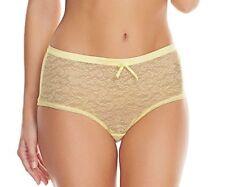 Freya Fancies Short Brief Lemon Sorbet Size L XL XXL 14 16 18 20 Hipster 1015 Xl/16-18