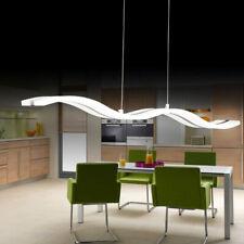 36W DEL Acrylique Plafond Lumière Pendentif Ripple Plafonnier Pendentif Chambre