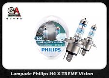Philips h4 x-treme vision +130% LUCE Bianca Ghiaccio 3500K