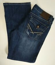 TK AXEL Distressed Blue Jeans Mens Vintage Boot 34X32