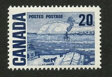 Canada 1971 Centennial 20c blue - HiBrite, Dex gum#464ii VF MNH