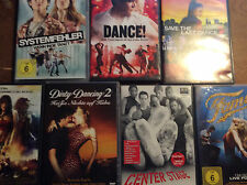 Tanzfilme [7 DVD] Fame Center Stage Save the Last Dance 2 Step Up Dirty Dancing