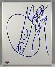 Vanilla Ice TMNT GO NINJA Signed Original 8x10 Sketch On Canvas PSA/DNA COA (B)