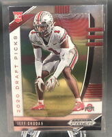Jeff Okudah 2020 Panini Prizm Draft Picks RC Lions Rookie card Ohio State