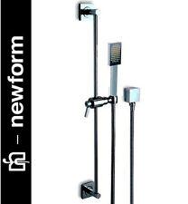 "Newform ""Base Collection"" 4057 Complete Shower Set w/HandShower+Wall Elbow NIB"