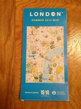 England / London summer 2012 Folding map