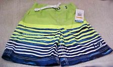 Nautica Boy's Bathing Swimsuit Size 4 Green & Navy NEW