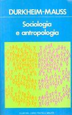 A14 Sociologia e antropologia Mauss Ed. Melita 1981