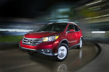 HONDA OFFICIAL CR-V AND FIT-EV CONCEPT PRESS KIT FLASH DRIVE 2012-13 USA EDITION