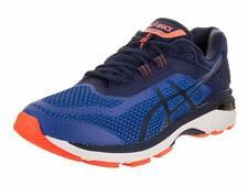 ASICS Men's GT-2000 6 Running Shoe, Imperial/Indigo Blue/Orange, 8 2E US