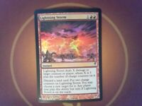 Foil Lightning Storm - Coldsnap - Magic the Gathering MtG red