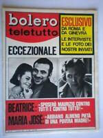 Bolero 1070 Gravina Volonté Simonetti Maria Beatrice Arena Sampò Laforet Meroni