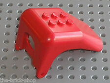 Toit voiture LEGO FABULAND red Car Roof with x616 / Set 3644 3637 36414 ...