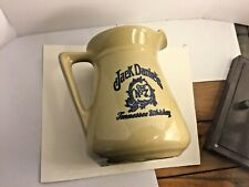 Vintage Jack Daniels Old No 7 Tennessee Whiskey Stoneware Pitcher Pottery