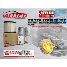 Filter Service Kit AIR OIL FUEL TOYOTA HILUX KUN16R KUN26R 1KDFTV 2005 - 2015
