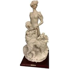 Giuseppe Armani Figurine Lady With Borzoi Dogs 1122-C