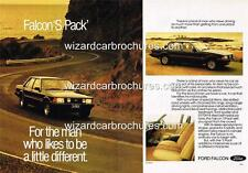 1980 FORD XD FALCON 'S PACK' A3 POSTER AD ADVERT ADVERTISEMENT SALES BROCHURE
