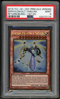 2015 YU-GI-Oh! PLG2-EN084 Sephylon,the Ultimate Timelord 1st Edition-PSA 9 MINT