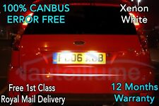FORD Fiesta ST Mk6 ZETEC S ZS LED Number Plate Lights Mondeo Mk2