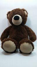 Build A Bear Super Cute 15'' Teddy Bear Plain Dark Brown Discontinued