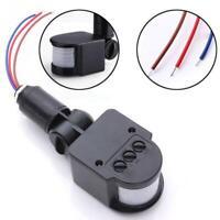 110-220V Infrared PIR Motion Sensor Detector 180° Energy-saving Lighting Switch