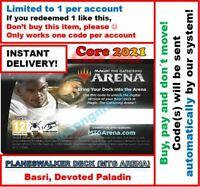 MAGIC MTG Arena Code: Planeswalker Deck Core Set 2021: BASRI INSTANT EMAIL! 🚚