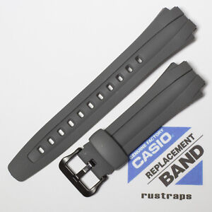 CASIO gray rubber watch band for AQ-160W, 10137492