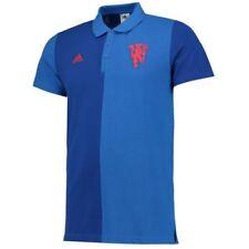 Camisetas de fútbol de clubes ingleses de manga corta azul adidas