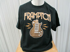 Vintage Gildan Peter Frampton 2017 North American Tour Xl Black T-Shirt Preowned