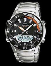 Casio Watch Marine Gear Grafico di marea Fasi lunari 100m amw710d UK Venditore