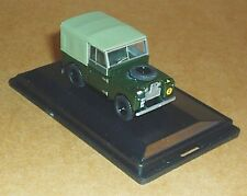 "OXFORD DIECAST LAND ROVER SERIES 1 88"" CANVAS REME 1:76 SCALE MILITARY MODEL CAR"