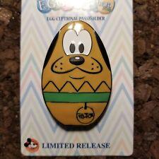 Pluto Dog Easter Egg-Stravaganza 2018 Annual Passholder LR Disney Pin 127640