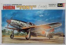 "Revell 1:32 Kawasaki Ki-61 ""Hien Tony"" Plastic Aircraft Model Kit #H-276U"