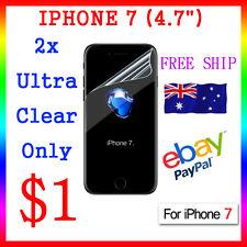 "2x LCD HQ Ultra Clear Screen Film Display Protector Apple Guard iphone7 4.7"" Au"