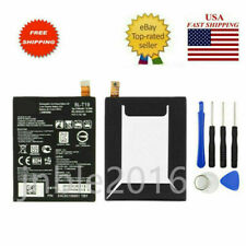 For Google Nexus 5X H790 H791 H798 BL-T19 2700mAh Rechargeable Battery Tools US