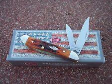 CASE XX * 2016 HARVEST MOON AUTUMN BONE PEANUT KNIFE KNIVES