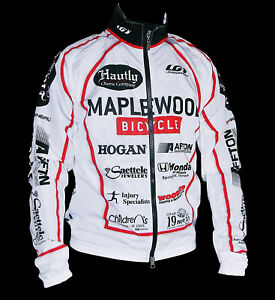 LOUIS GARNEAU MAPLEWOOD BICYCLE ST. LOUIS CYCLING JACKET, SIZE: MED, MADE IN USA