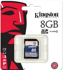 Kingston 8GB SD 8G SDHC Class 4 C4 for standard video memory card SD4/8GB