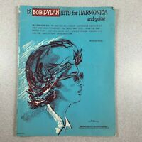 12 Bob Dylan Hits for Harmonica and Guitar Songbook Sheet Music Lyrics 1966