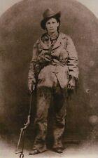 Calamity Jane Martha Jane Canary Indian Fighter Wild Bill Hickok Friend Postcard