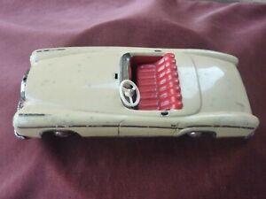 voiture huki cabriolet mercedes,à friction,west germany
