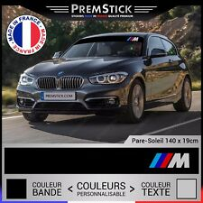 Sticker Pare Soleil BMW M - Autocollant Voiture, Stickers Rallye, Racing, ref1