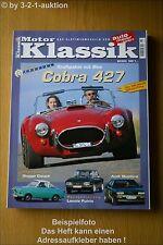 Motor Klassik 8/00 Cobra 427 V8 Spezial