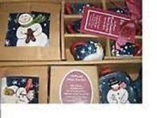 HOLIDAY SNOWMEN 15 PIECE MINI TEA SET SERVICE FOR 4 CHRISTMAS HOLIDAY GIFT NEW
