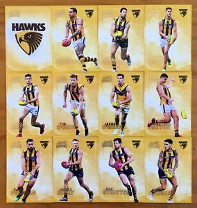 2020 SELECT AFL DOMINANCE SERIES HAWTHORN HAWKS CARD SET