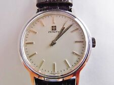 orologio zenith manuale anni '70 acciaio