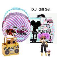 LOL Surprise Lil DJ OOH LA LA BABY 24K D.J. OMG Fashion Doll Wave 2 Winter Disco
