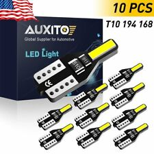 AUXITO T10 LED Light Bulbs Xenon White 192 168 194 2825 W5W Super Bright 6000K F