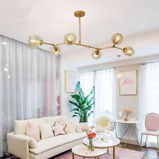 Large Chandelier Lighting Kitchen Pendant Light Bar Gold Lamp Room Ceiling Light