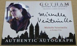 2017 Cryptozoic Gotham Season 2 Michelle Veintimilla as Bridgit Pike Auto Card